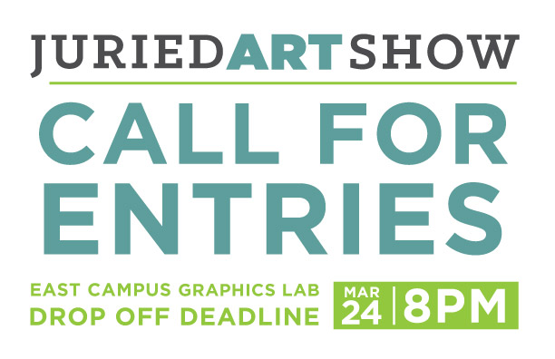 Call for Entries: 2017 Annual Student Juried Show